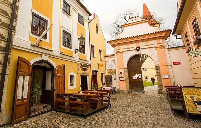 Monasterios de Cesky Krumlov