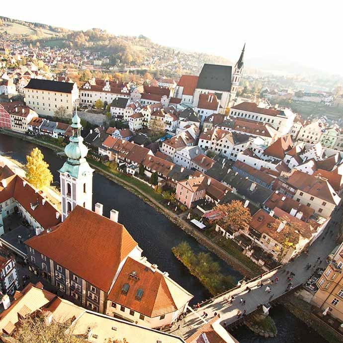 torre del castillo cesky krumlov