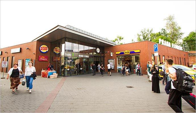 Estación de autobús Florenc, en Praga: