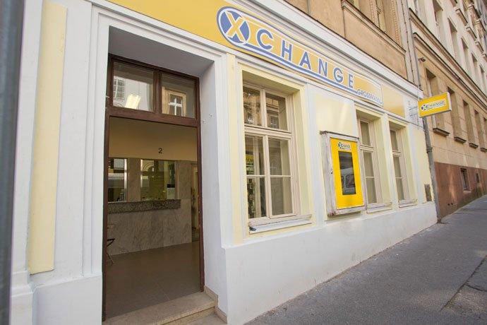 cambiar dinero en Praga: Xchange Grossmann, en Praga.