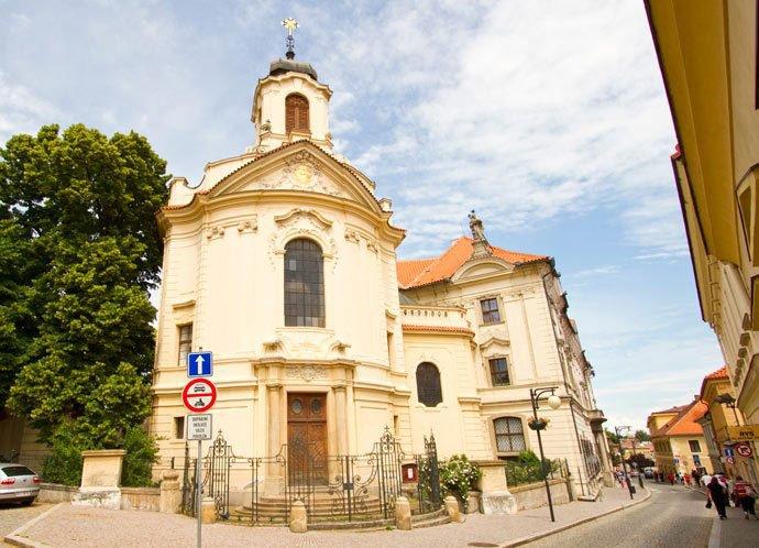 qué hacer en Kutná Hora: Iglesia del Sagrado Corazón
