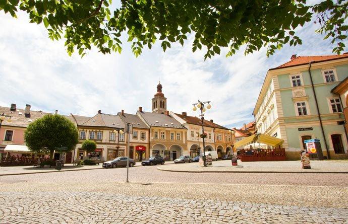 qué hacer en Kutná Hora: Plaza Palackého (Palackého náměstí)
