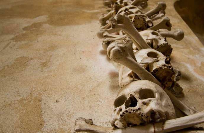iglesia de los huesos de kutná hora