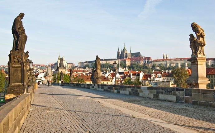 un día en Praga: el Puente de Carlos