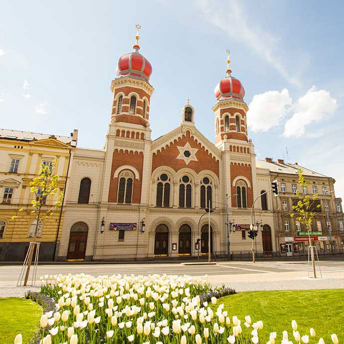 gran sinagoga de pilsen
