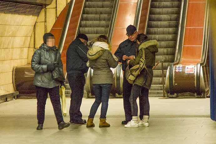 inspectores metro praga