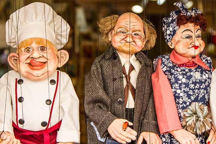 marionetas de Pavel Truhlář