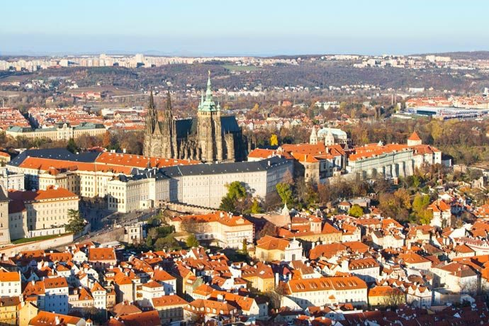 torres de Praga: Torre de Petřín