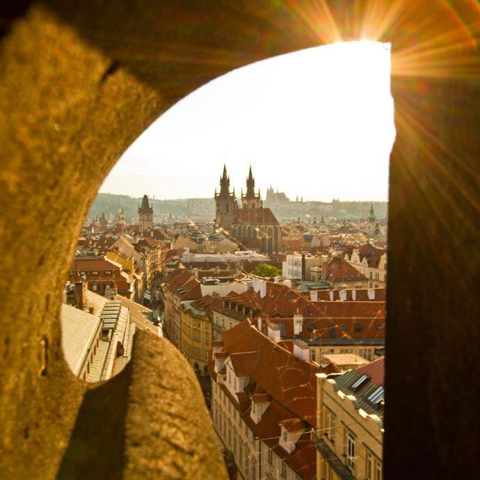 torres de Praga: torre de la pólvora, praga