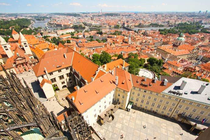 torres de Praga: Gran Torre Sur de la Catedral de San Vito