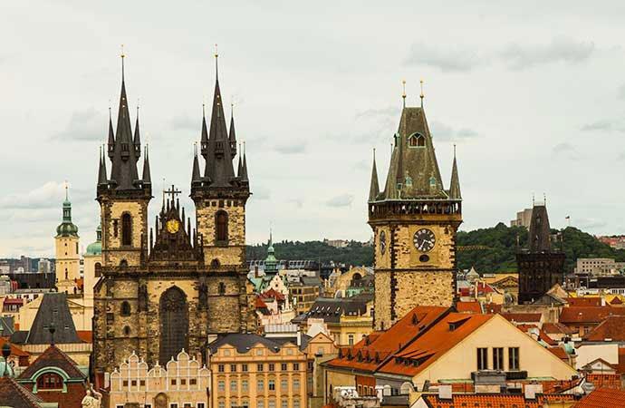 torres de Praga: Torre Astronómica Praga