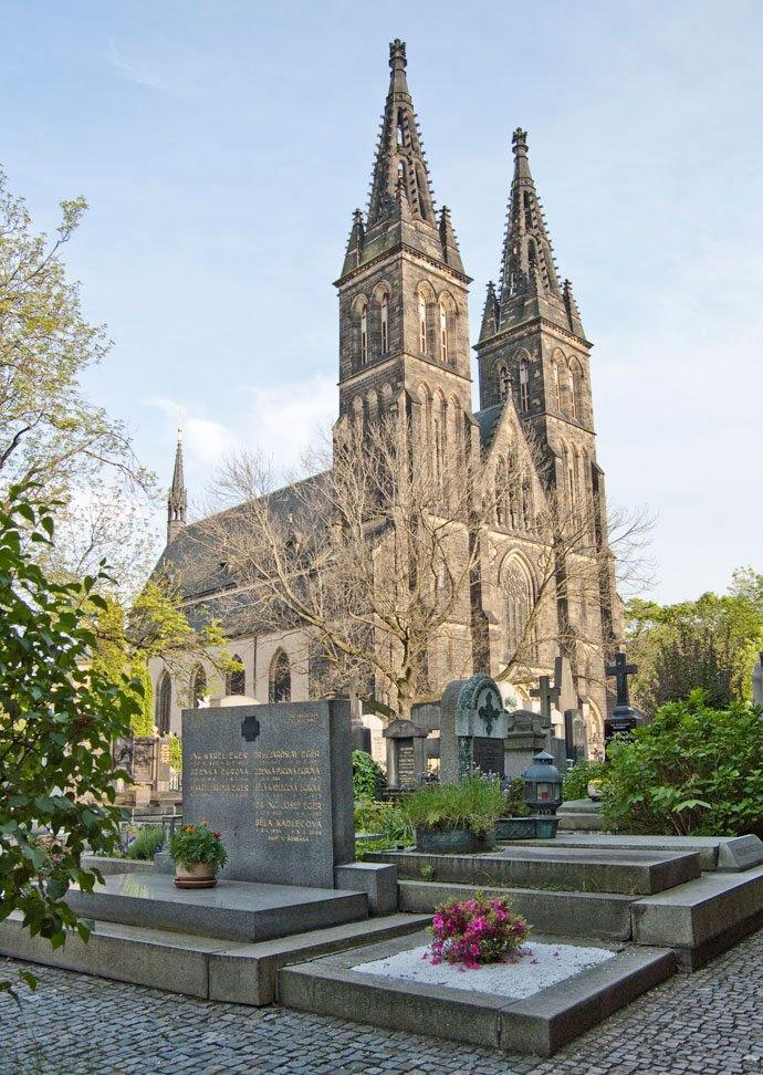 cementerio de Vyšehrad